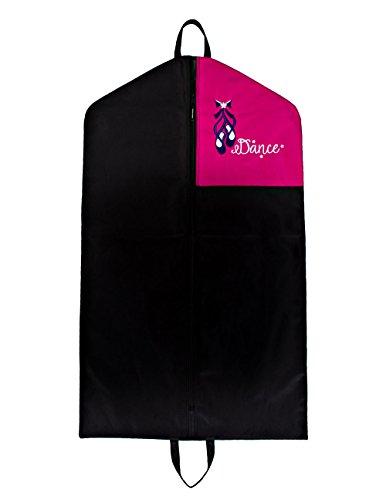 Horizon Dance 2406 Dolce Embroidered Garment Bag - Pink