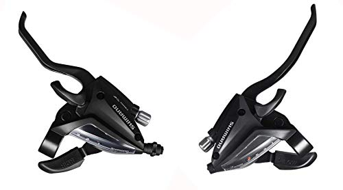 - INKE Shimano ST-EF500 3x7 Speed Shifter MTB Bike Brake Lever Combo (1 Pair,2-Finger)