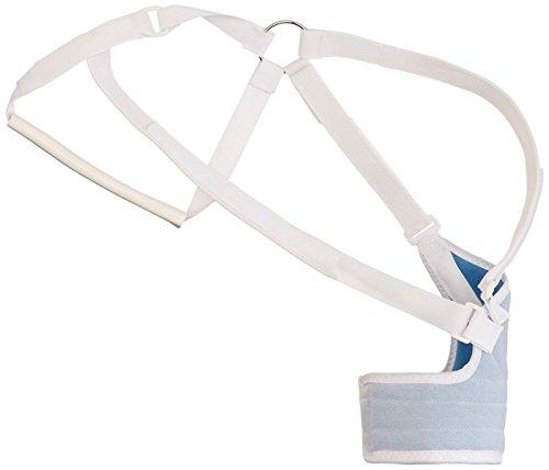 Hemi Sling Arm (Rolyan Original Hemi Arm Sling for Left Arm, Comfortable Shoulder Sling with Elastic Straps, Shoulder Immobilizer Support for Stroke, Soft Tissue Injury, Surgery, or Ligament Strain, Small)