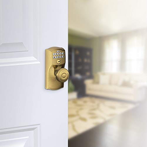 Schlage Fe595 Cam 716 16 211 10 063 Camelot By Georgian