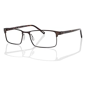 Eco Men's Delhi Matte Brown 54mm Eyeglasses, Size 54-17-143 B31