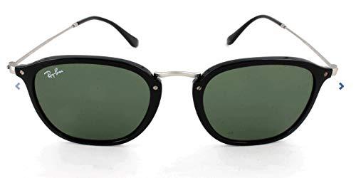 Ray-Ban Junior RJ9064S Round Kids Sunglasses, Black/Grey Gradient, 44 ()