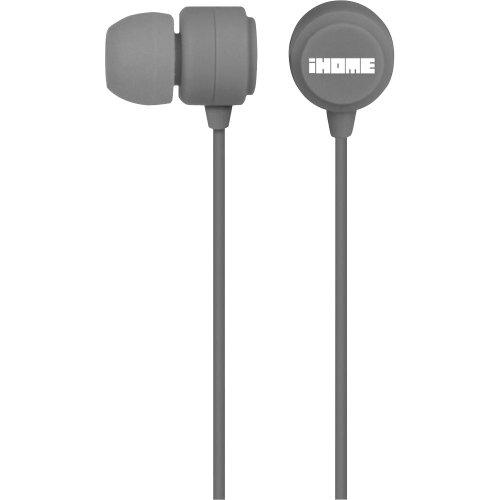 iHome iB22G Rubberized Isolating Earphones