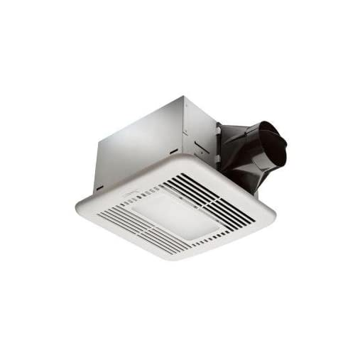 free shipping Hampton Bay 80 CFM Ceiling Exhaust Fan with LED Light and Nightlight