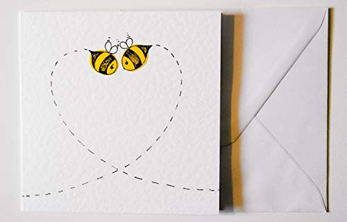 Bee Valentines/Anniversary/Birthday/Wedding/Love Card ()