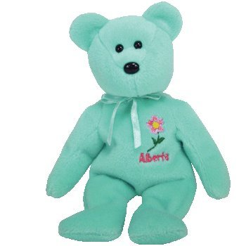 Amazon.com  TY Beanie Baby - ALBERTA WILD ROSE the Bear (Canada Show ... 60a01a00bf2