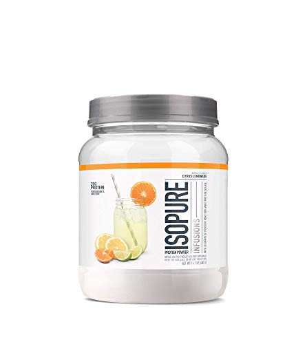 - ISOPURE INFUSIONS, Refreshingly Light Fruit Flavored Whey Protein Isolate Powder,