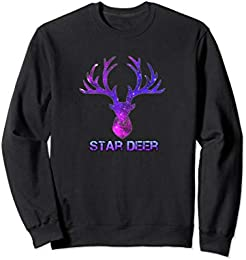 Star Deer Sweatshirt