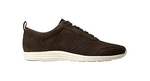 Cole Haan Hommes Grand Sport Perforé Ii Mode Sneaker Chaussures Suede / Espresso