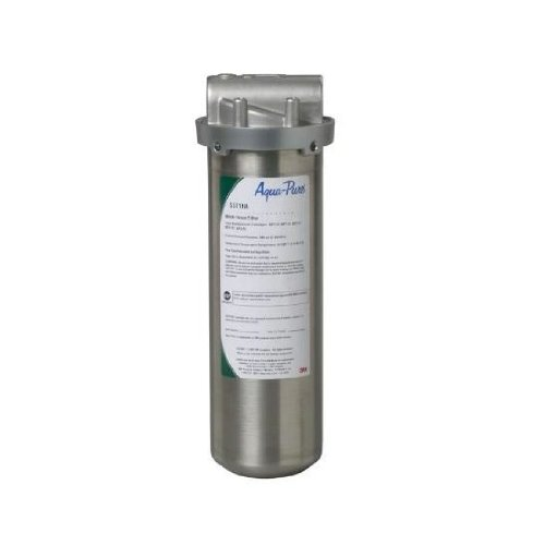 Aqua Pure SST1HA Industrial Grade Water Filter, Stainless Steel by Aqua Pure
