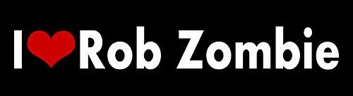 Zombie Heart (Rob Zombie I love STICKER HEART 31 movies film musician heavy metal band DECAL VINYL BUMPER DECOR CAR Graphic Wall (2