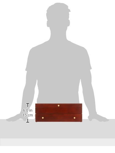 Reed & Barton Easton Flatware Chest, 15-Inch x 11-Inch x 5.5-Inch, Mahogany by Reed & Barton (Image #5)