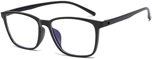 Miwaimao ブルー ライト カット メガネ 人気,コンピュータガラスの反放射男性光線放射線眼鏡プラスチックチタン14 gユニセックスアンチブルーライトメガネ女性、黒