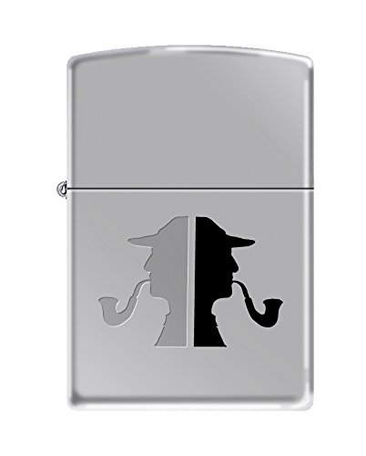 Zippo Faces High Polish Chrome Pipe Lighter by Zippo (Image #1)
