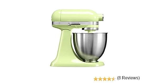 KitchenAid Mini - Robot de cocina (3,3 L, Verde, palanca, 200 RPM, 1,219 m, CC): Amazon.es: Hogar