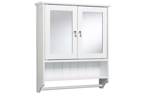 croydex ribble double door self assembly mirror cabinet with shelf rh amazon co uk freestanding bathroom cabinet with towel rail