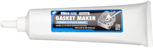 Vibra-TITE 732 General Purpose Flexible Gasket Maker, 250 ml Tube, Purple by Vibra-TITE