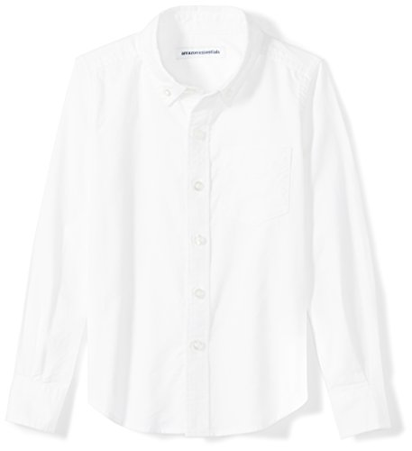 Amazon Essentials Big Boys' Long-Sleeve Uniform Oxford Shirt
