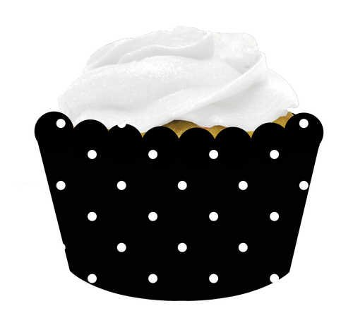12 Count Baking Wrappers Cupcake Blowout