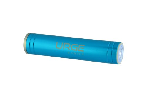 Urge Basics 2600mAh Flash Tube Pro Portable Battery Charger for Smartphones - Retail Packaging - ()