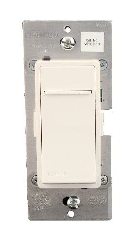 Coordinating Dimmer - Leviton VP00R-10Z, Vizia + Digital Coordinating Remote Dimmer/Fan Speed Control, 3-Way or More Applications, White/Ivory/Light Almond