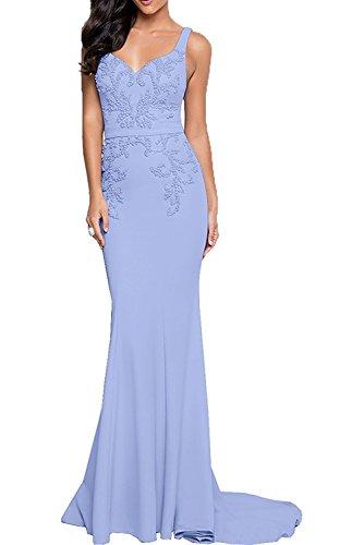 Abendkleider Traeger Festlichkleider Partykleider Zwei Lilac Meerjungfrau Etuikleider Marie Braut Damen La ICnAqXUwS