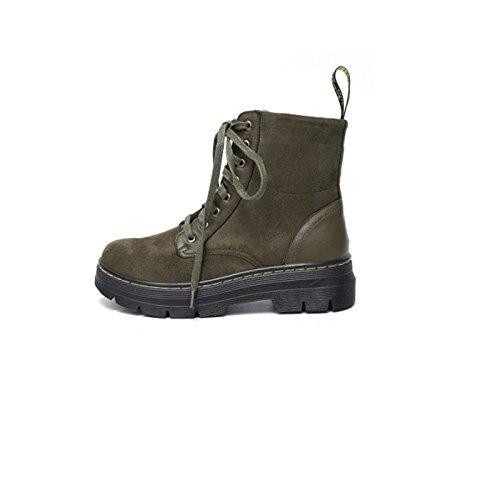 42 termici donna Stivali caldo invernali green Antiscivolo Stivali da army confortevole e casual vwO1RqZ