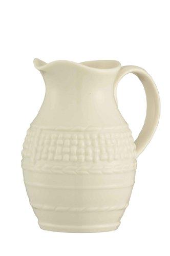 Large Cream Jug (Belleek Galway Weave Cream)