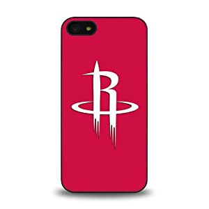 iPhone 5 5S case protective skin cover with NBA Houston Rockets Team Logo 2014 Latest - 5