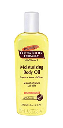 Palmer's Cocoa Butter Formula with Vitamin E Moisturizing Body Oil  |  Instantly Relieves Dry Skin  |  Made with Soybean, Sesame, Safflower  |  Free of Parabens & Phthalates  |  8.5 fl. Oz.
