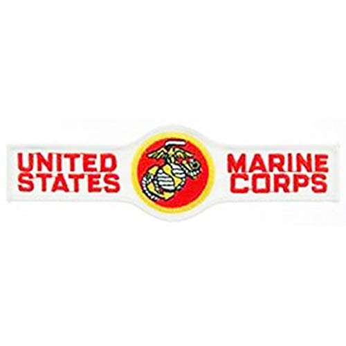 USMC Marine Corp Military Embroidered Iron On Patch - Name Tab w/ Applique