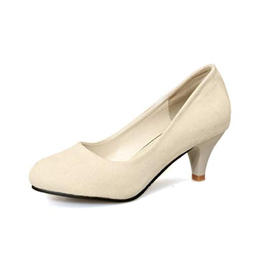 Orteils Chaussures Bottes Court Mariage Talons Beige À Hauts De Chat Jrenok Rondes Femmes t6qwfvAfz