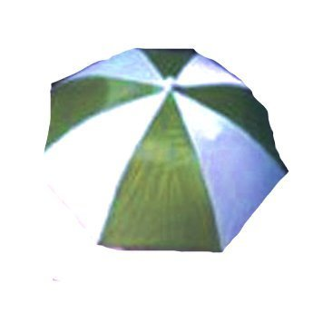 Umbrella Hats Choice of Colors (Green/white) by Roger Enterprises (Image #2)