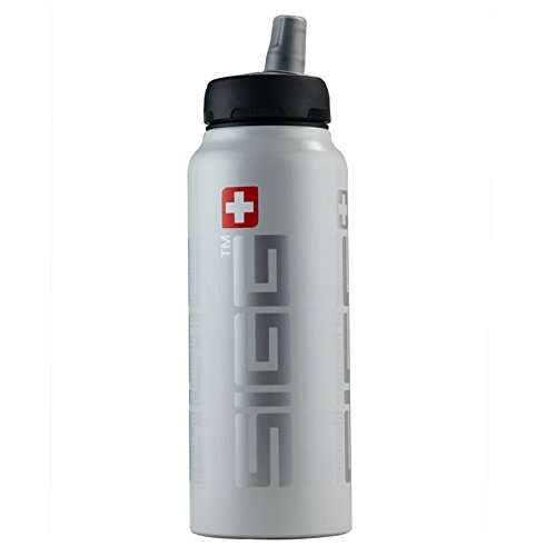 Sigg Siggnificant Water Bottle, White, 1.0-Litre