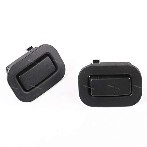 Right Rear Recliner - Fastener & Clip 64328AG011 64328AG001 Rear Left Right Seat Recliner Button Black for Subaru Forester 2009 2010 2011 2012 2013 - (Color Name: Pair)