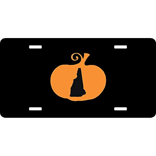 Halloween New Hampshire License Plate Cover Auto Truck
