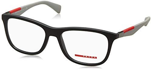 Prada Linea Rossa Men's PS 04FV Eyeglasses Grey Rubber ()
