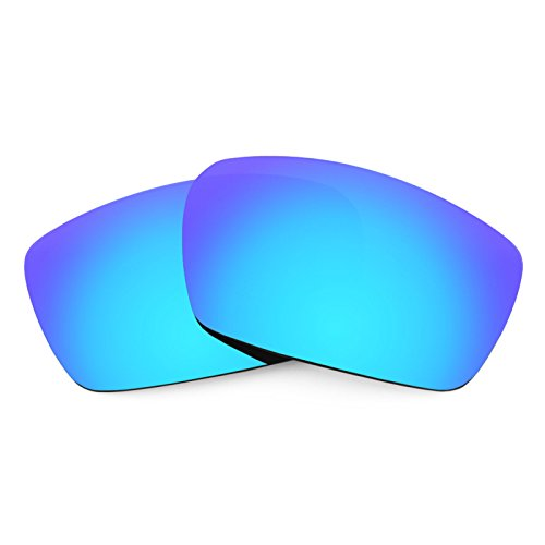 Revant Polarized Replacement Lenses for Spy Optic Dirk Elite Ice Blue - Sunglasses Parts Spare