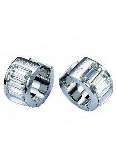 20cf6545b DKNY Glamour White Cubic Zirconia Earrings: Amazon.co.uk: Jewellery