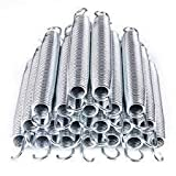 7'' Trampoline Spring Replacement Heavy-Duty Galvanized 20Pcs