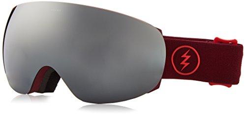 Electric Visual EG3.5 Oxblood Bronze Silver Chrome Snow Goggle