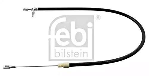 Parking Brake Cable Left Rear FEBI For MERCEDES S210 W210 95-03 2104201085