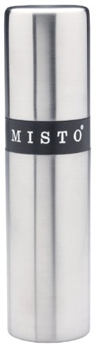 Misto Gourmet Stainless-Steel Olive Oil Sprayer, Black Band