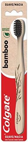 Colgate Bamboo Single Cepillo Dental, Multicolor,