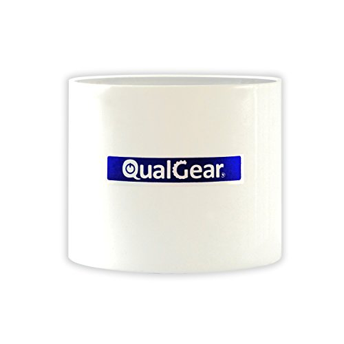 "QualGear QG-PRO-PM-PC-W Pro-AV 1.5"" Npt Threaded Pipe Connector Projector Accessory"