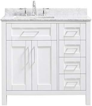 Ove Decors Maya 36 Set Bathroom Vanity Freestanding Cabinet