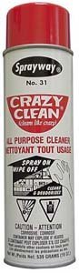 Crazy Clean All Purpose Cleaner - Case:12 by Sprayway (Image #1)