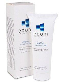 Edom - Handcreme Totes Meer - Handcreme für sehr trockene Haut - 100 g - mit Mineralien des Toten Meeres