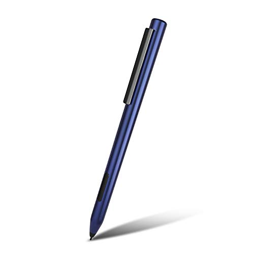 Surface Pen - Microsoft Certified Surface Stylus Pen with 1024 Levels of Pressure Sensitivity for Microsoft Surface Pro, Surface Go, Surface Book, Surface Laptop Including AAAA Battery & 2 Pen Tips