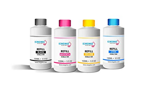 Icinginks Edible Ink Refill for Cakes and Cookies